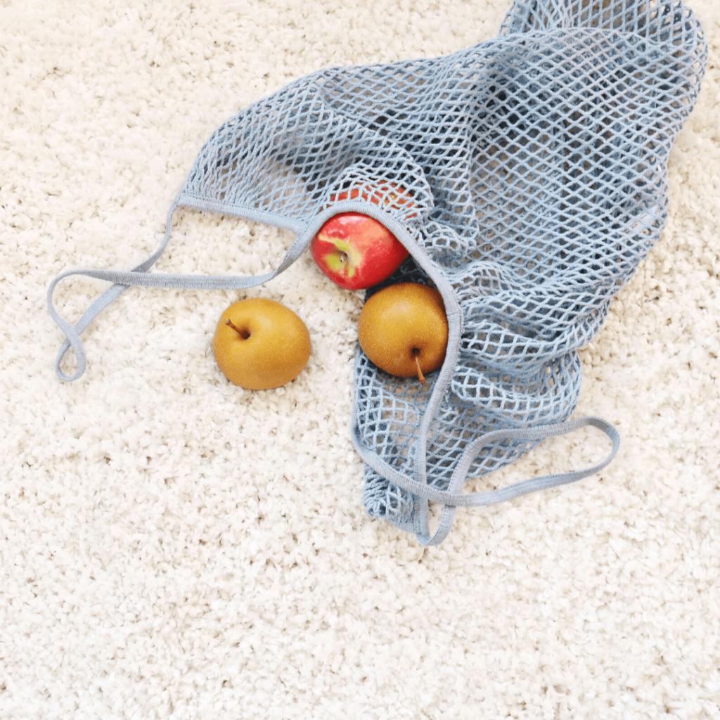 bolsa de malla para fruta o verduras
